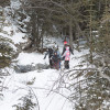 Hiking the Heart Creek Trail in Winter