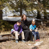 Hiking at West Bragg Creek Recreation Area