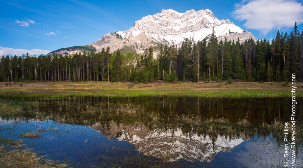 Cascade Mountain in Banff National Park