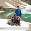 Family Portrait at Lake Oesa near Lake O'Hara