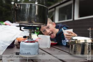 Breakfast Lake O'Hara Campground
