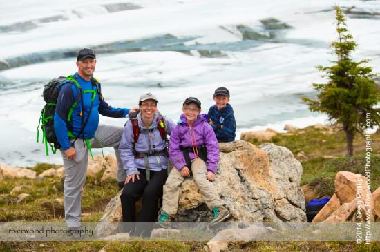 Family Portrait at Lake McArthur