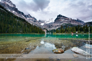 Early Morning at Lake O'Hara in Yoho National Park
