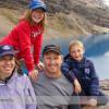 Hiking to Lake McArthur from Lake O'Hara