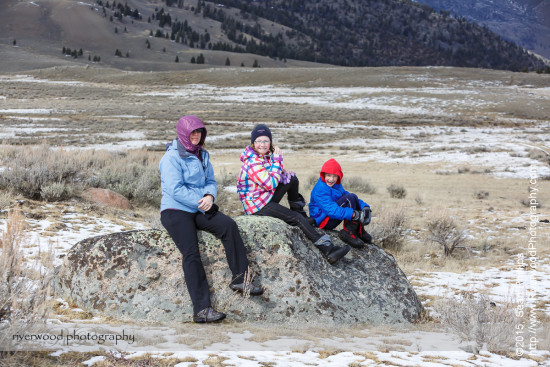 Hiking near the Black Tail Ponds in Yellowstone National Park
