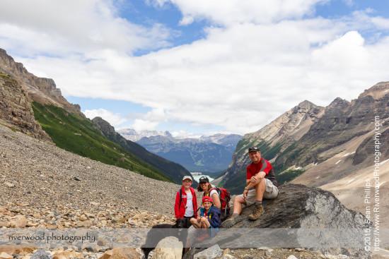 Plain of Six Glaciers Hike (7)