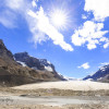Athabasca Glacier at Columbia Icefields