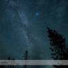 The Milky Way over the Icefields Parkway