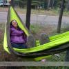 Louise Relaxing in the Hammock