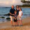 Family Portraits on the Beach in Maui