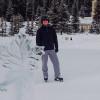 Skating at Chateau Lake Louise
