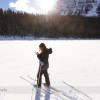 Cross Country Skiing at Lake Louise