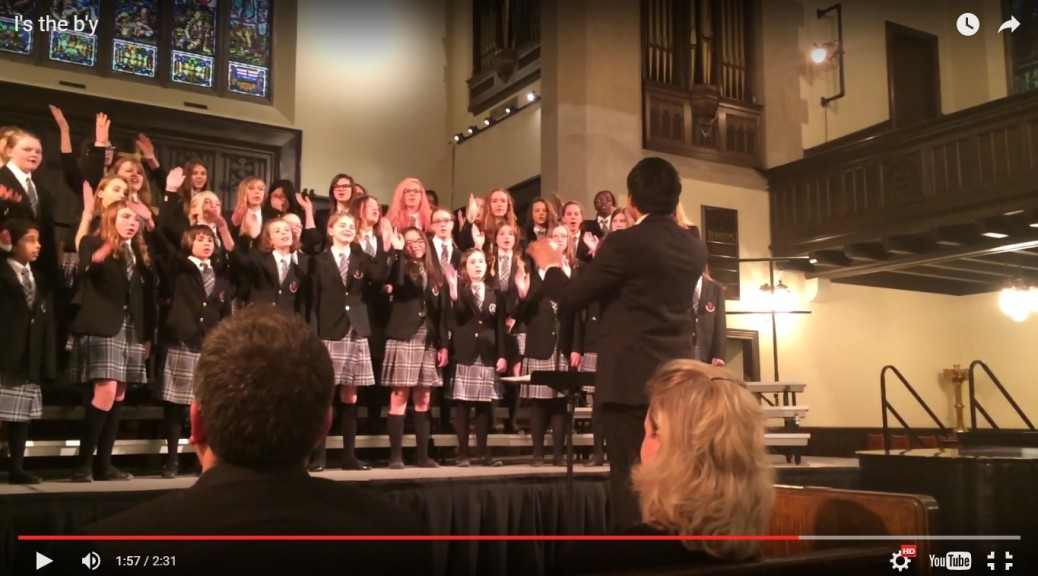 CGS Choir Sings I's the B'y