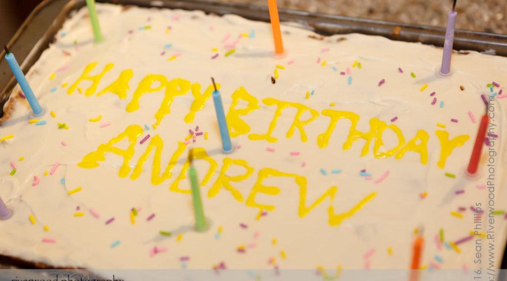 Andrew's 9th Birthday Party