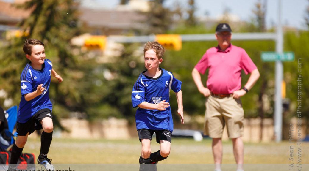 Andrew's U10 Soccer Game