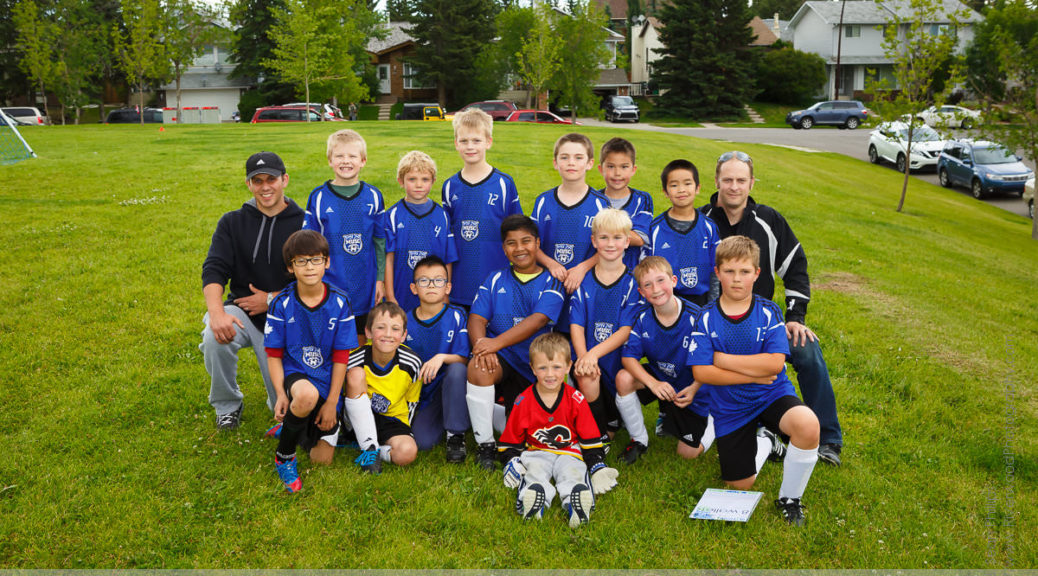 Andrew's Last U10 Soccer Game of the Year