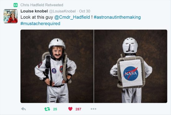 Halloween 2016 - Spaceman Andrew